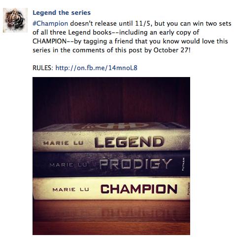 legend contest